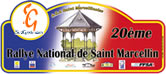 Plaque Rallye Saint Marcellin 2008